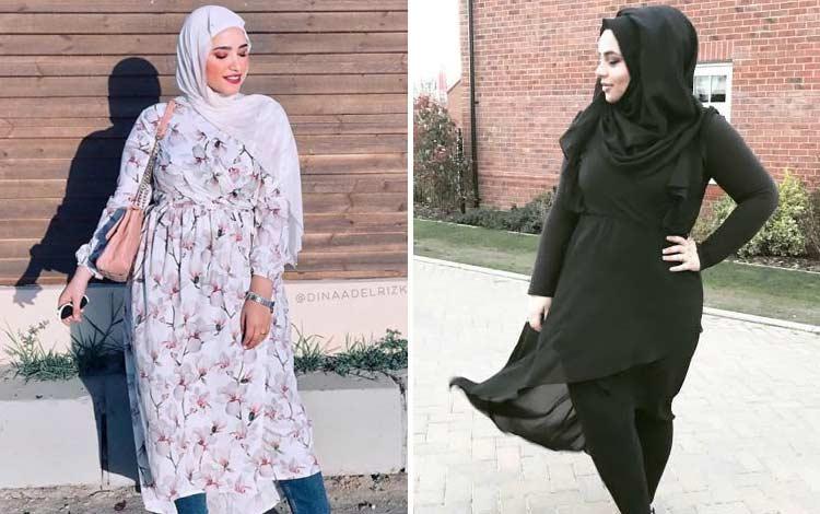 Inspirasi Model Busana Lebaran Wanita Gemuk Berhijab yang Layak untuk Dicoba