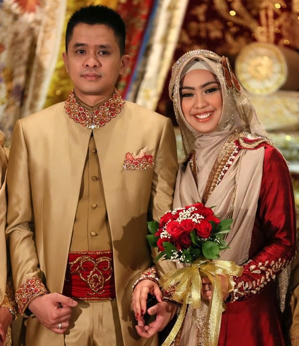 Model kebaya pengantin muslim 5