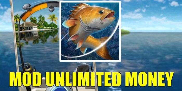 Proses Memancing Ikan Virtual dari Kail Pancing Mod Apk
